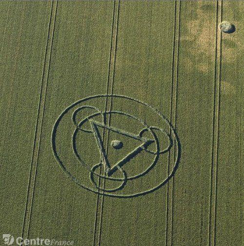 Interaction entre pensées humaines et crop circles